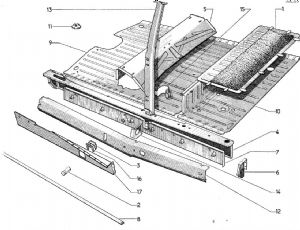 Chassis and Structure: Middle part